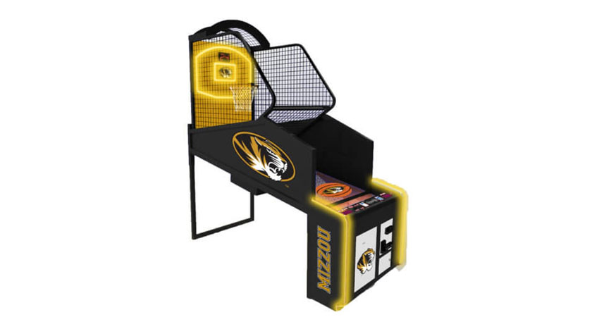 Collegiate Hoops Basketball Arcade Game Machine
