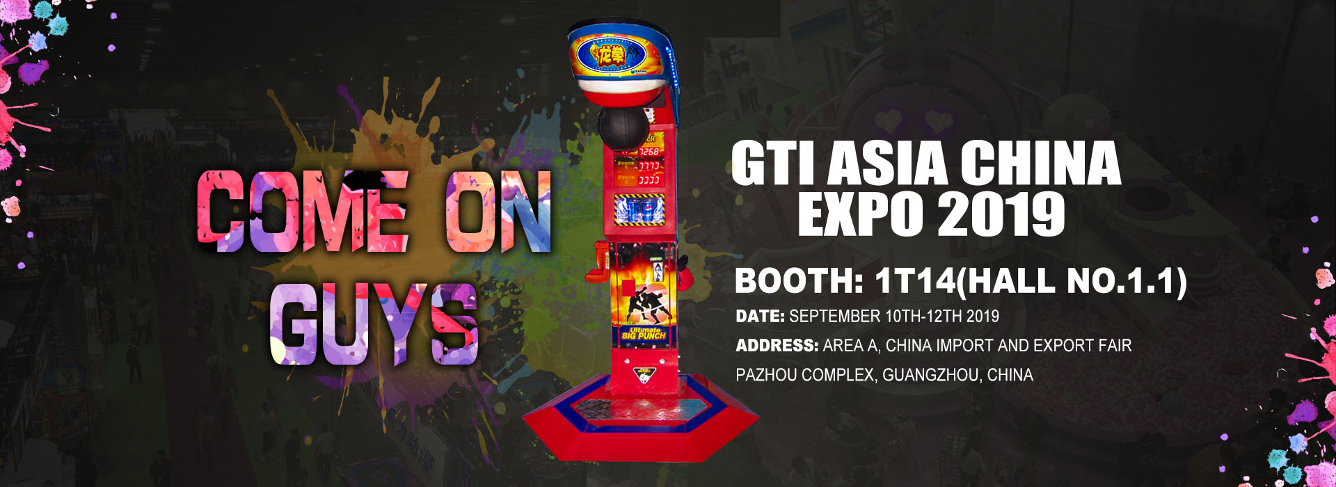 GTI Asia China Expo 2019, Neofuns Invites You to Join in this Exhibition.