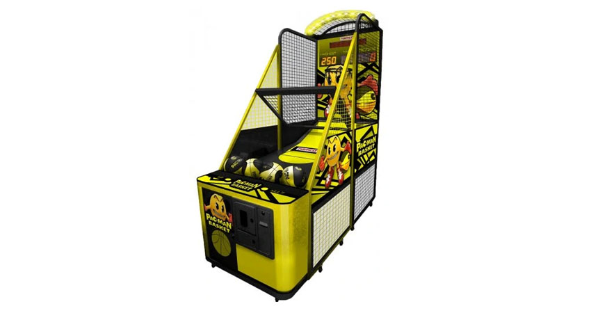 Namco Pac-Man Basketball Arcade Game Machine