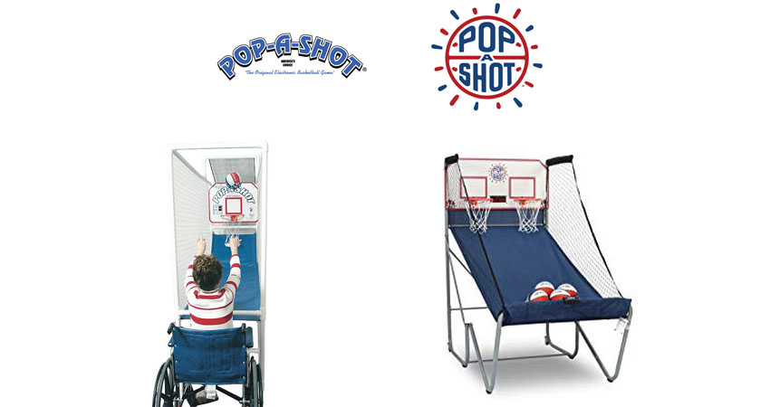 POP A SHOT indoor basketball arcade machine
