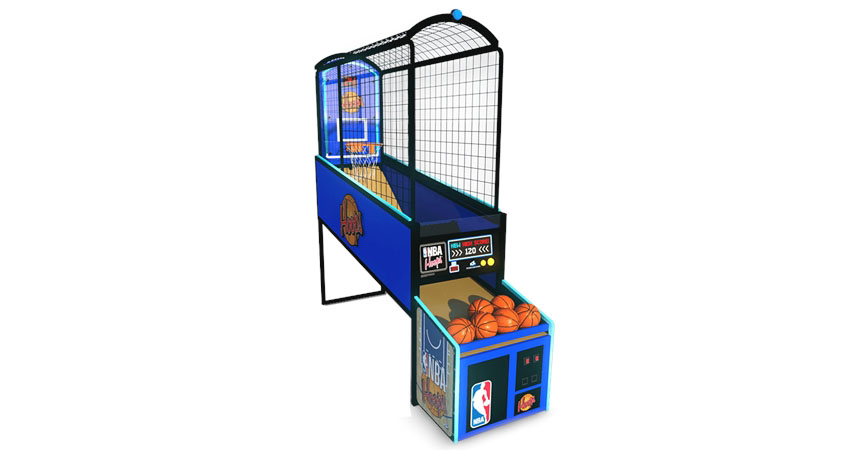 The NBA Hoops Basketball Arcade Game Machine