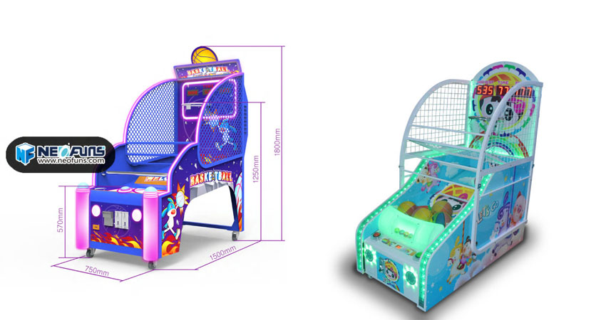 kids basketball arcade machine 1