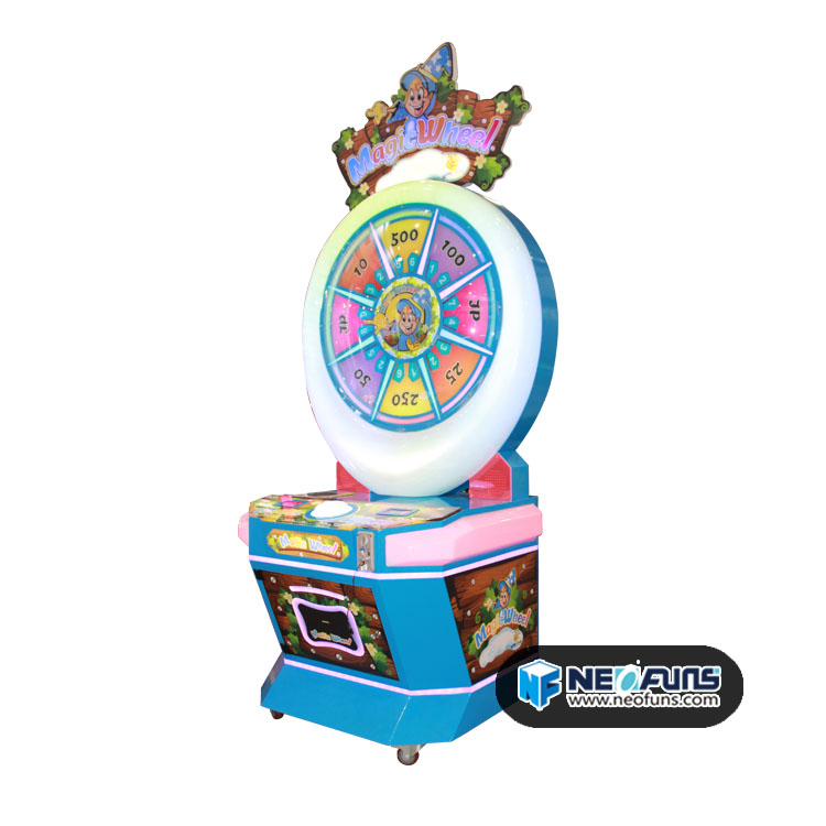 Magic Wheel Redemption Arcade Machine