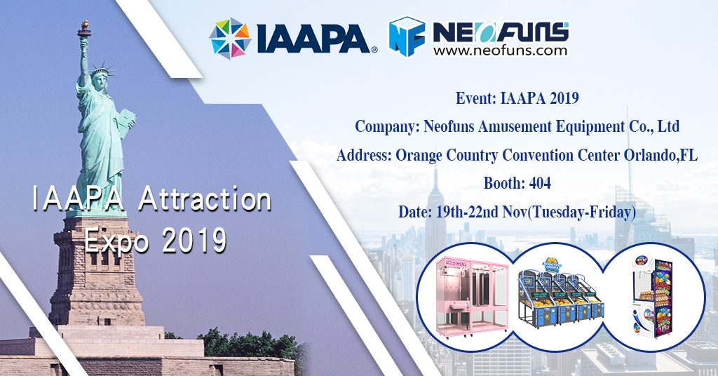 IAAPA Attraction Expo 2019(USA)